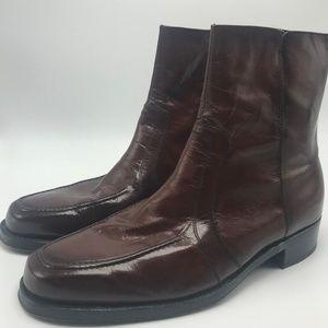 Vintage Florshiem Beatle Boot Brown 9.5 D